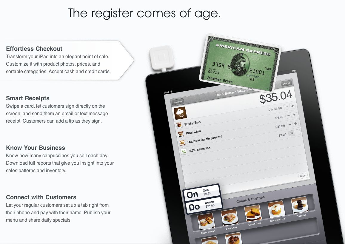 Square seeks to revolutionize retail sales with square register for ipad card case - Iphone Help ...