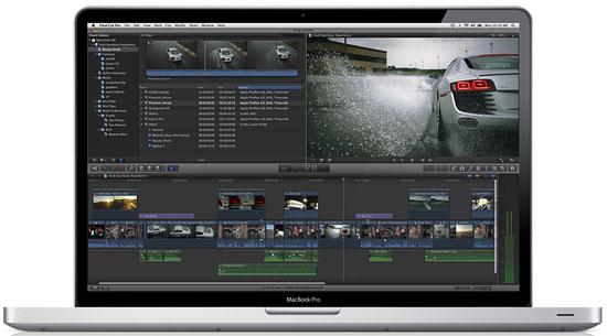 Apple uvedl Final Cut Pro X, Motion 5, a Compressor 4