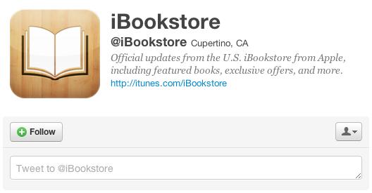 apple ibooks twitter