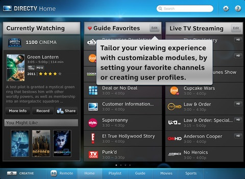 bloomberg tv and directv debut new live streaming services for ipad mac rumors. Black Bedroom Furniture Sets. Home Design Ideas