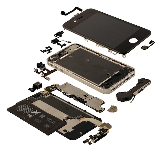 iPhone 4S - Odhady cen komponentů