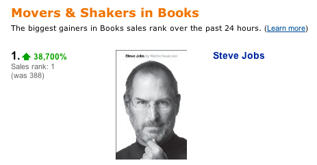 Authorized Biography of Steve Jobs to Debut October 24th - Mac Rumors