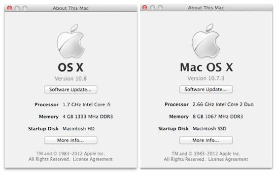 Aus Mac OS X wird OS X