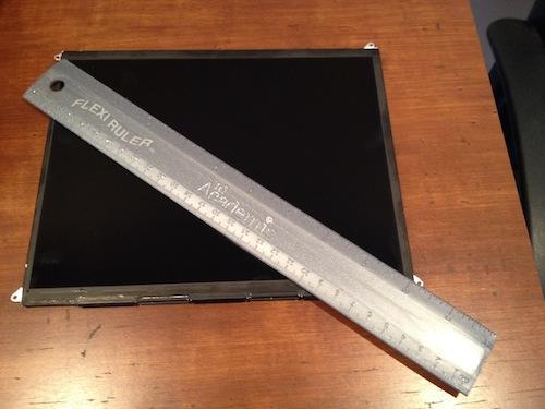 Macrumors xác nhận: màn hình iPad 3 độ phân giải 2048x1536