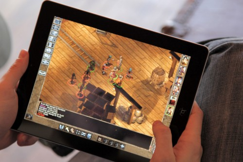 Baldur's Gate on iPad