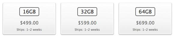 Na americkém Apple Store se zlepšila dostupnost nových iPadů