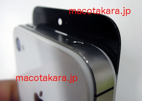 iphone 5 front panel macotakara 2 Next gen iPhone front panel compared on video to iPhone 4S