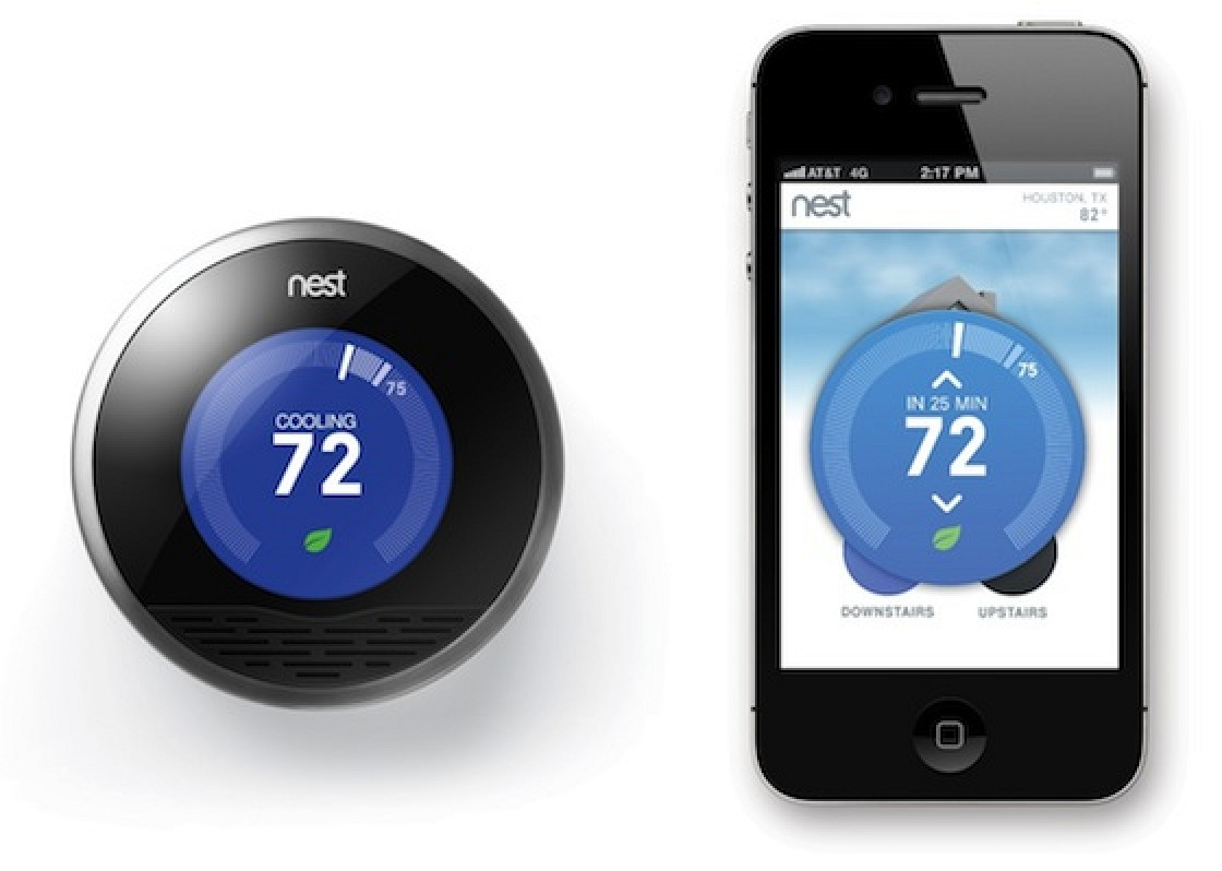 Diagram Nest Thermostat Added To Apple Online Store