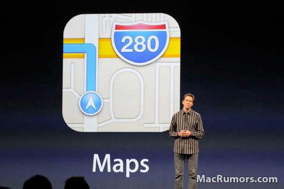 המפות החדשות של אפל