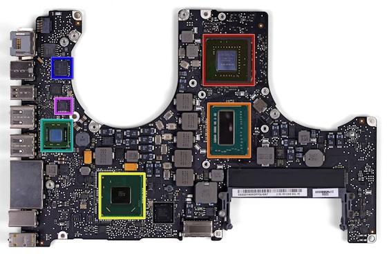 Non Retina Mid 2012 Macbook Pro Torn Apart Mac Rumors