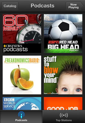 podcastscreenie Apples Official Podcast App Streams, Downloads, and Syncs iOS Podcasts with iTunes