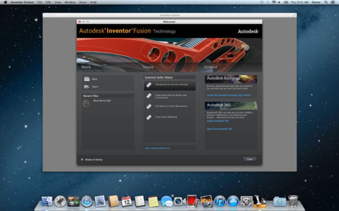 Autodesk Releases 'Inventor Fusion' on Mac App Store