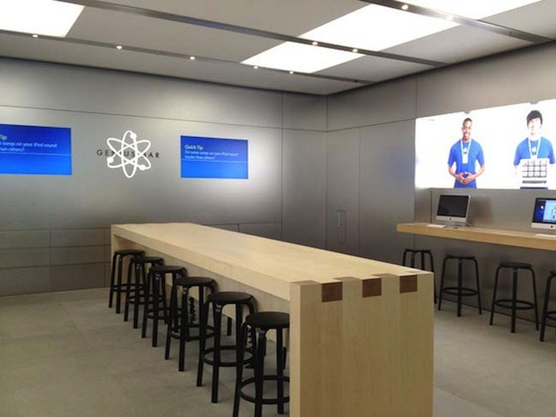 Apple Testing Redesigned Genius Bar To Increase Capacity