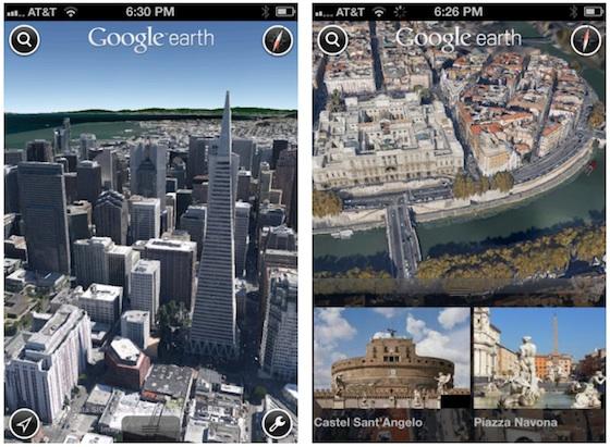 гугл планета земля для айфона - фото 6