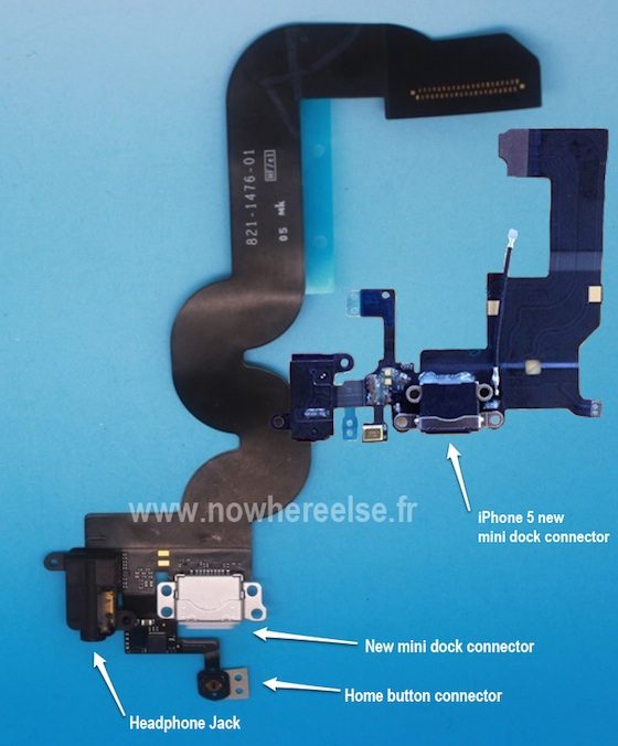 > Possible Photo of 'iPad Mini' Dock Connector Flex Cable with Headphone Jack at Bottom - Photo posted in BX Tech | Sign in and leave a comment below!