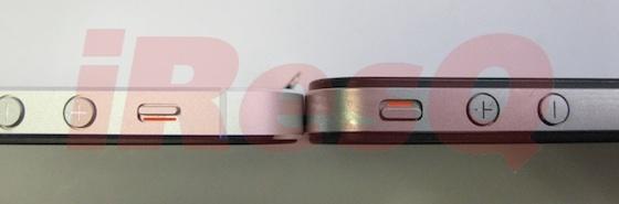 Detailní fotografie ukazují tenčí tělo iPhonu 5