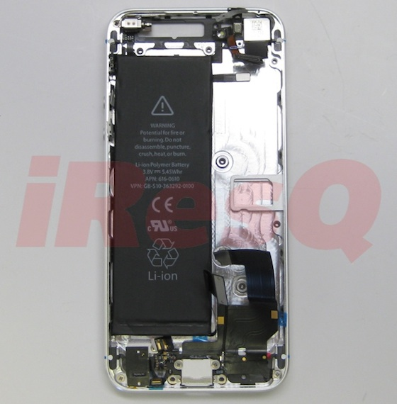 Battery iphone 5 change