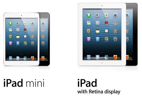 Apple prodal 3 miliony iPadů 4 a mini za 3 dny