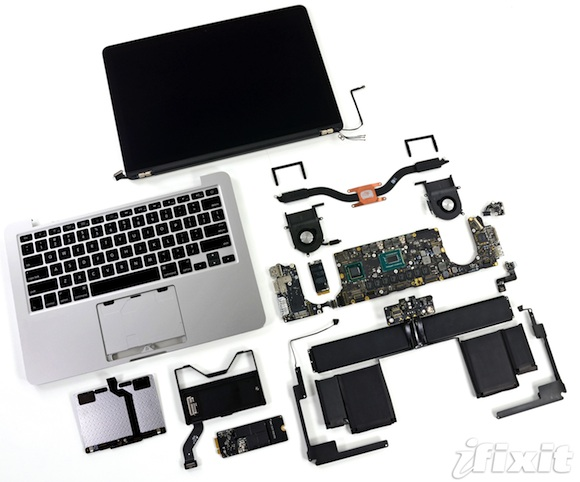 how to take screws out of macbook pro