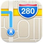 ios 6 maps icon 150x148 Google Moving Closer to Submitting Maps App for iOS as Eddy Cue Works to Improve Apples Maps