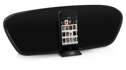 jbl launches first lightning compatible speaker docks