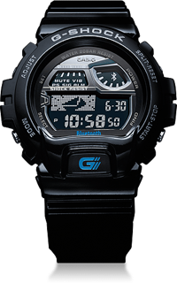 NewImage5 Casio Announces Bluetooth Low Energy Enabled G Shock Smart Watch
