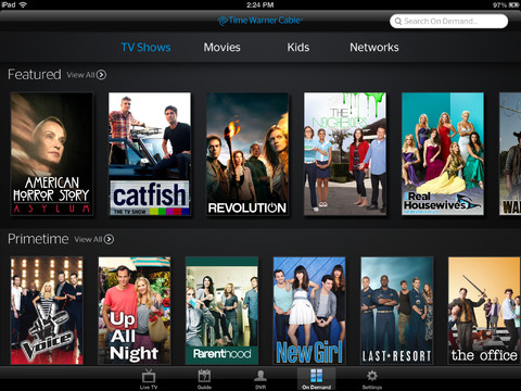 Time Warner Cable Updates Tv App With On Demand Content