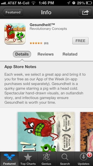 appstorenotes Apple Adds App Store Notes to Featured Apps