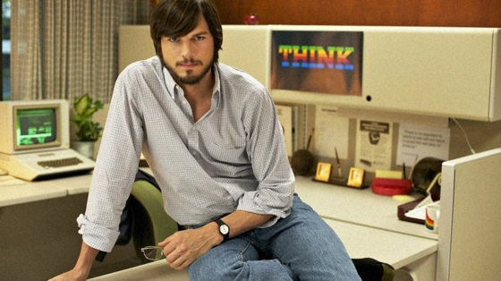 ashtonkutcher Ashton Kutcher Movie jOBS to Be Released in April