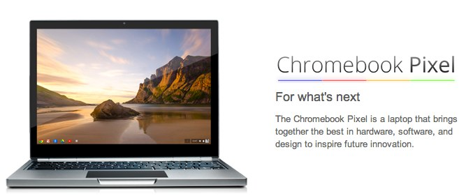 > Google Introduces the Chromebook Pixel ... high end ultrabook - Photo posted in BX Tech | Sign in and leave a comment below!