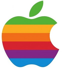 apple files new trademark application for classic rainbow logo