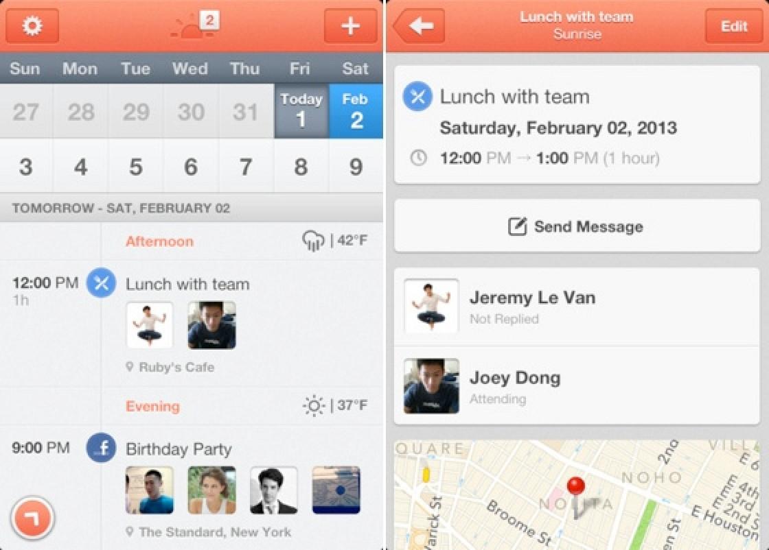 Calendar Experience on iOS, Integrating Facebook, LinkedIn and Google ...