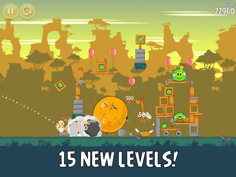 Angry Birds New Levels