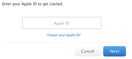 appleid Apple ID Security Hole Allows Password Reset With Email Address and Date of Birth