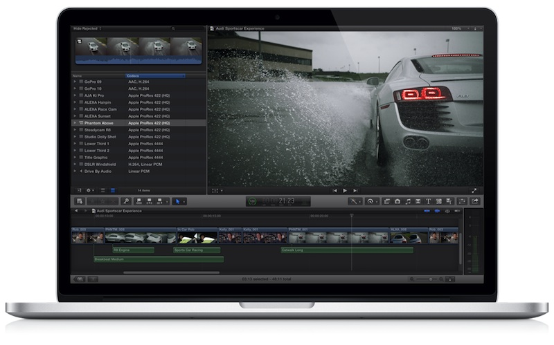 Apple Launching New Final Cut Pro X Marketing Push to Win Back Professionals