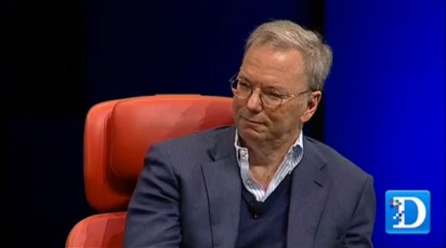 ericschmidt Facebook and Google Would Like Apple to Feature Them More Prominently on iOS
