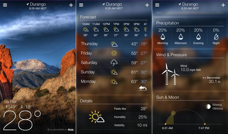 Yahoo погода - фото 11