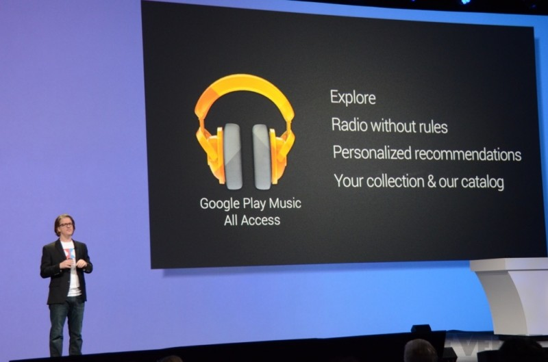 google music all access subscription
