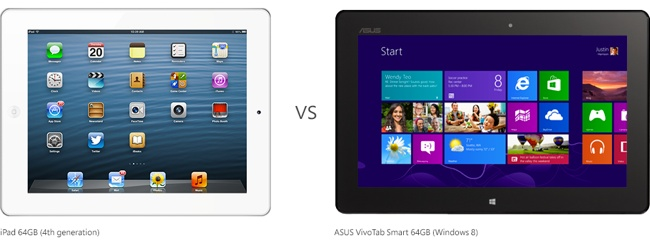 Another Microsoft ad disses iPad's specs, multitasking, AirPrint and more