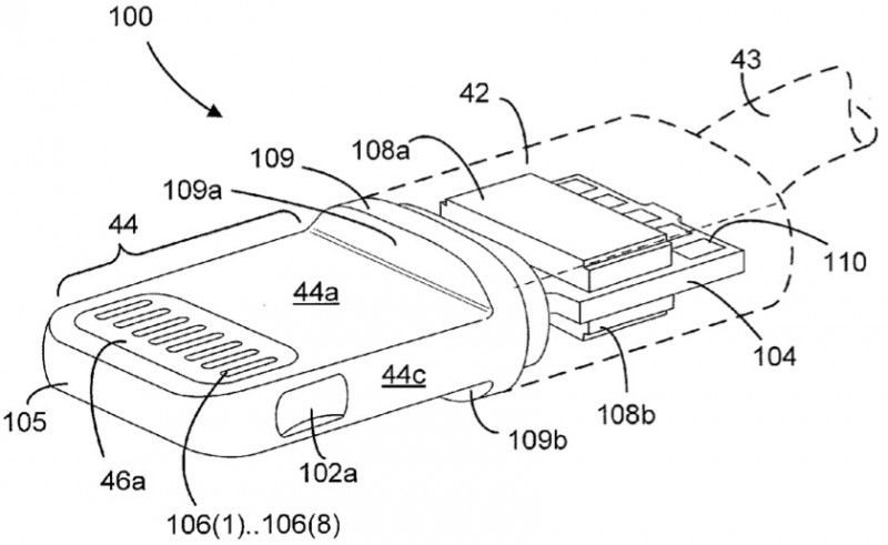 apple u0026 39 s lightning connector detailed in newly