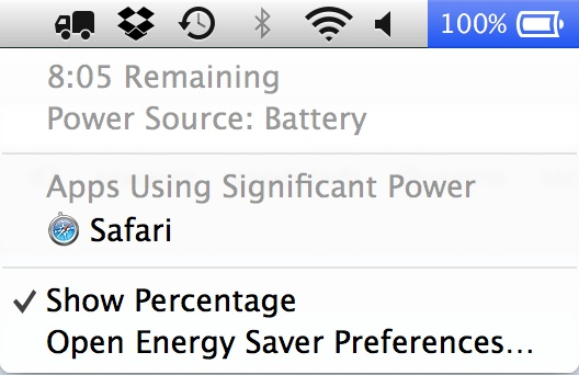 batterypower OS X Mavericks Tidbits: System Requirements, Redesigned Activity Monitor, App Battery Monitoring, and More