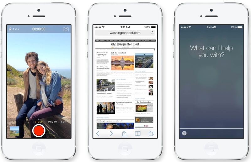 ios74 Apple Unveils iOS 7 with Major Design Overhaul, Multitasking and Control Center