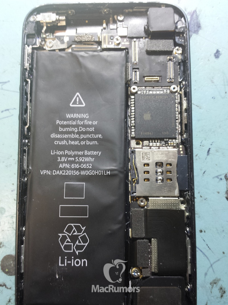 Apple S Iphone 5s Revealed In New Photos Mac Rumors