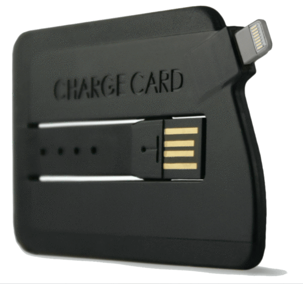 Chargecard Iphone 5 Charger Fits In A Wallet Mac Rumors