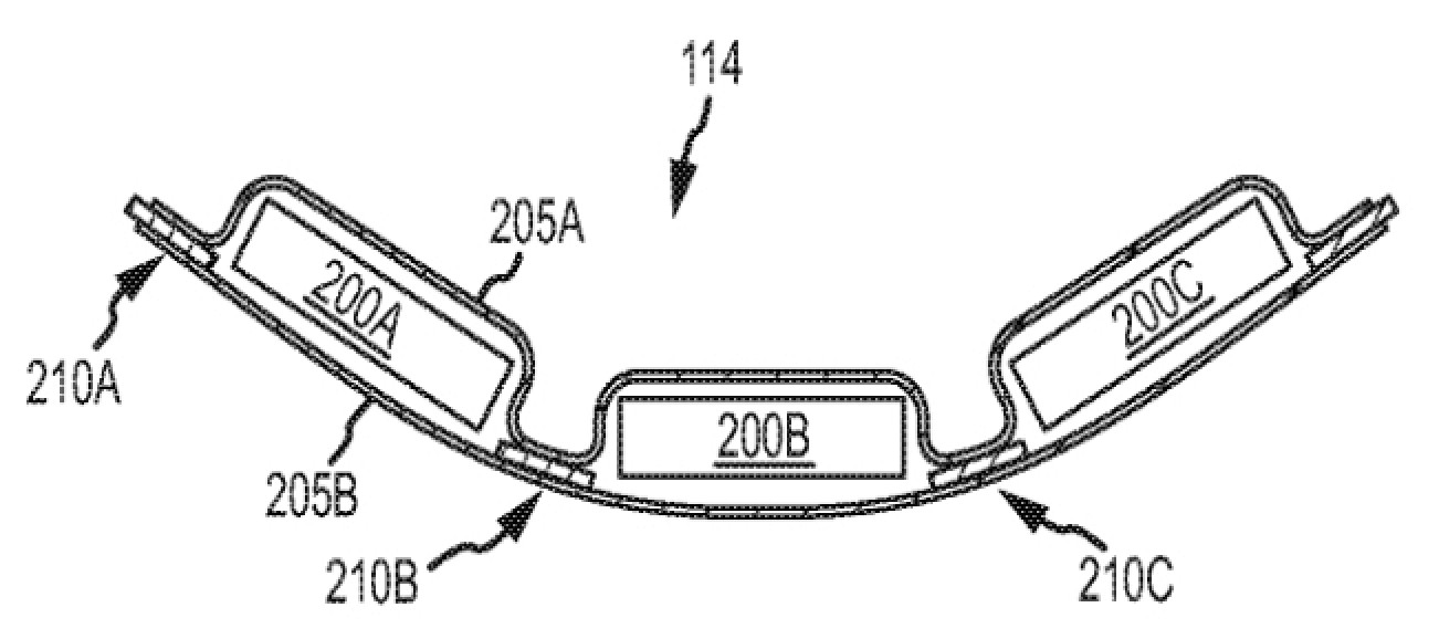 Apple Patent Details Flexible Battery Shape for Future