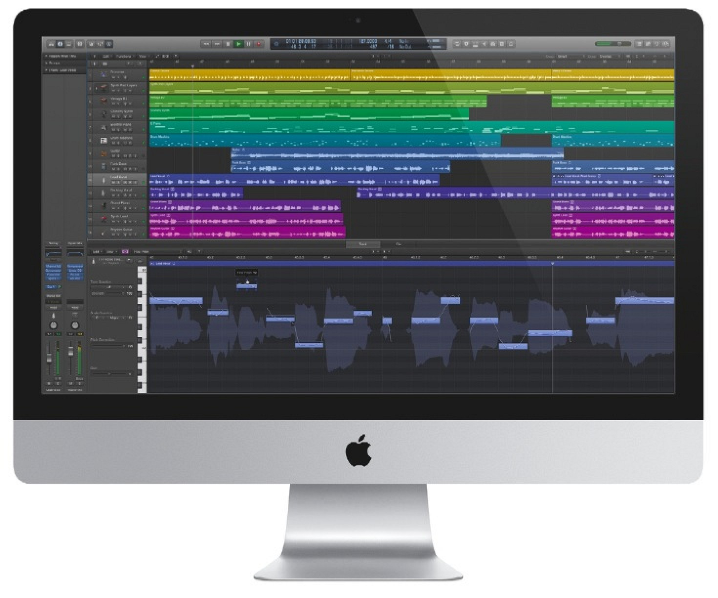 Features of Logic Pro X