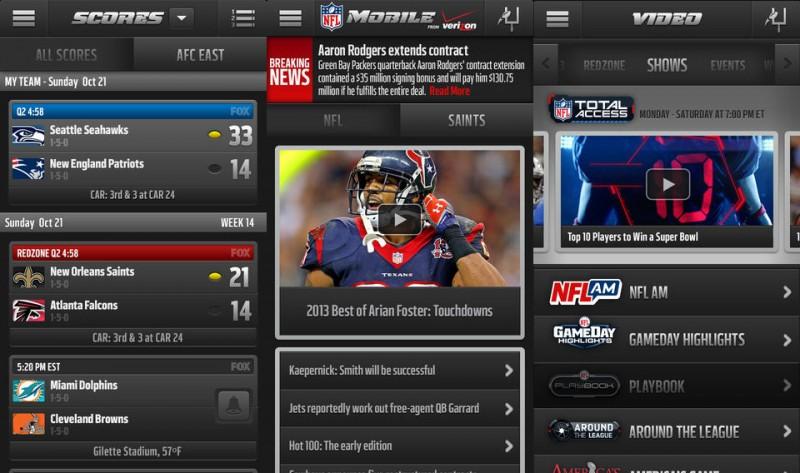 Nfl scores mobile