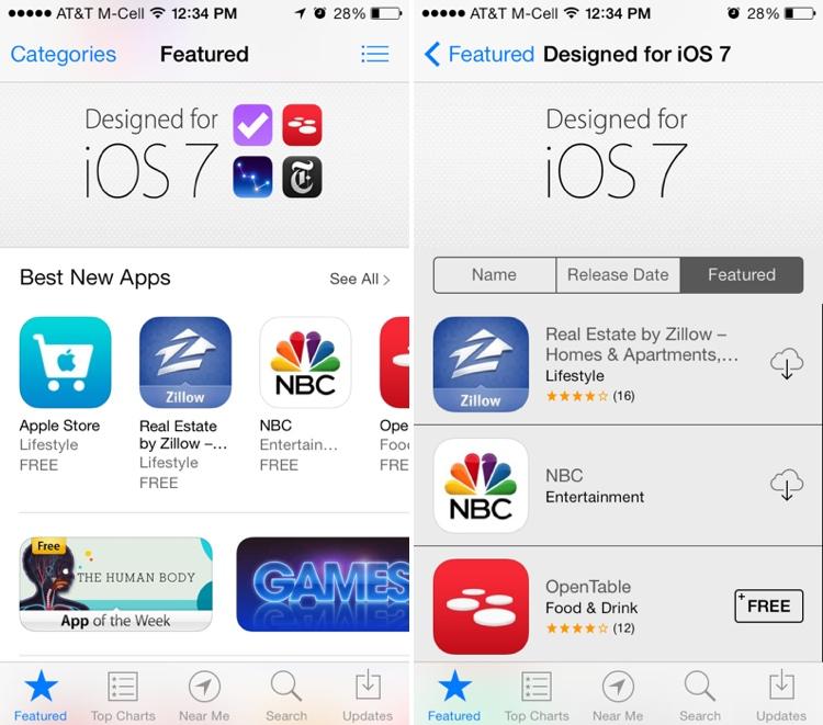 Image Gallery Ios 7 App Store Logo
