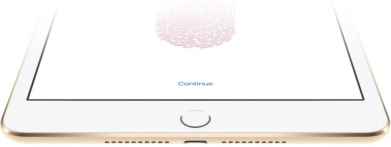 Apple získal patent na senzor otisků prstů v displeji