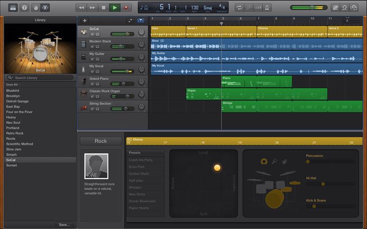 GarageBand for Mac